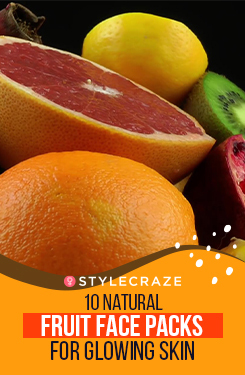 10 Natural Fruit Face Packs For Glowing Skin