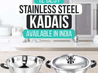 12 Best Stainless Steel Kadais Available In India