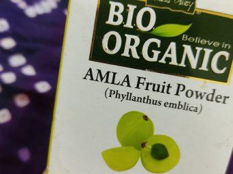 Indus Valley Bio Organic 100% Natural Amla Powder -One of best natural amla powder-By sadiya_mushtaq