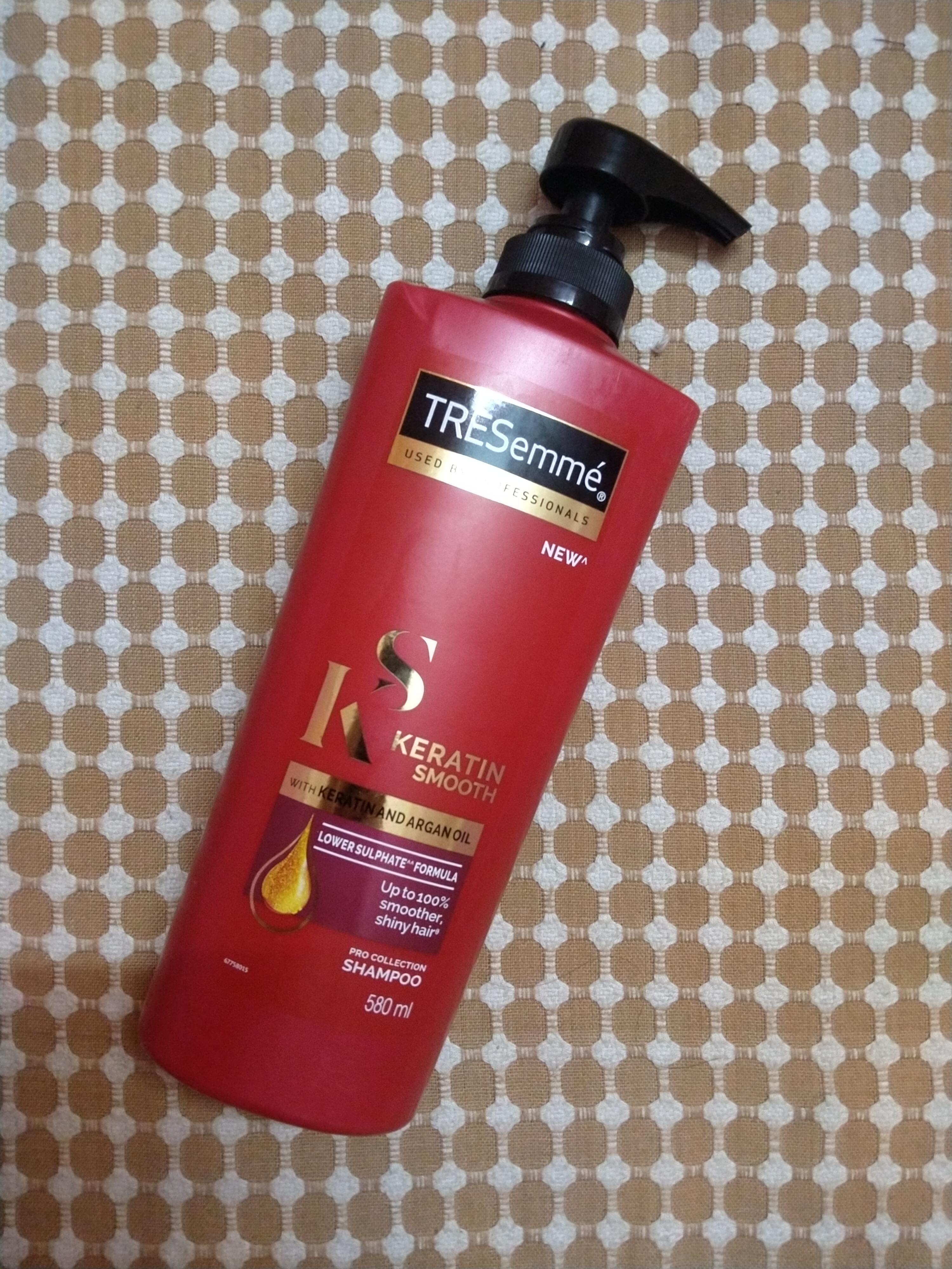 TRESemmé Keratin Smooth Infusing Shampoo -Salon style lustrous hair-By geetanjali_bharali