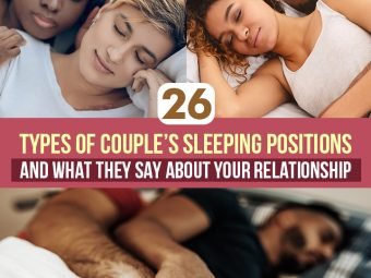 26 Types Of Couple's Sleeping Positions And What They Say About Your Relationship