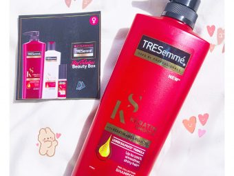 TRESemmé Keratin Smooth Infusing Shampoo -My wavy hairs are gone!! But now my hairs look different-By yesul1230