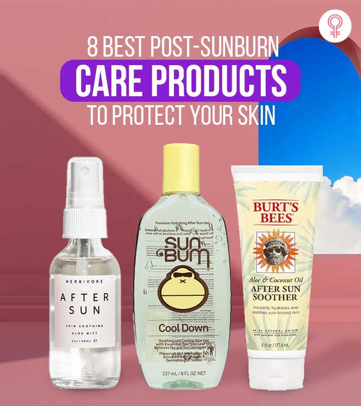 8 Best Post-Sunburn Care Products To Protect Your Skin