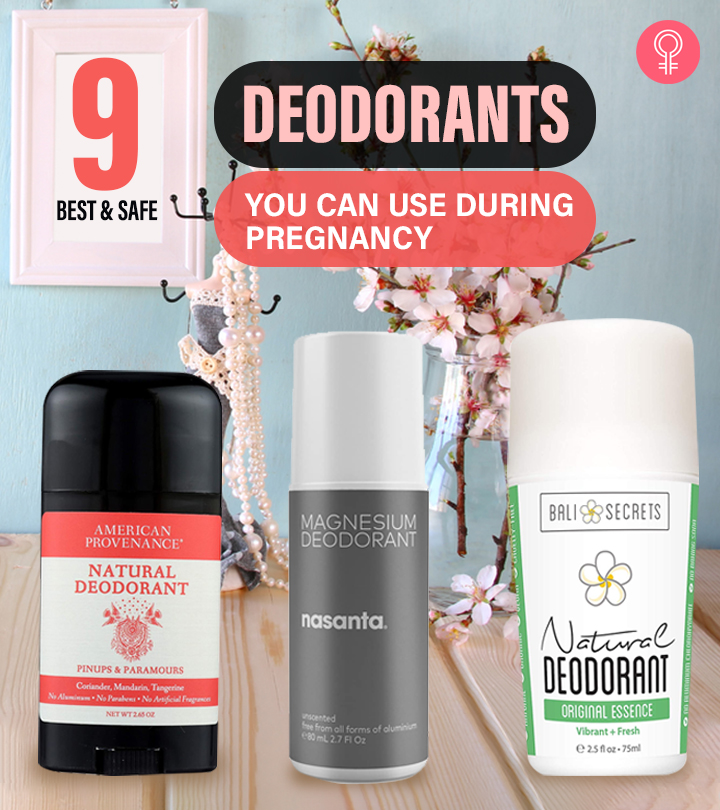 9 Best And Safe Deodorants You Can Use During Pregnancy