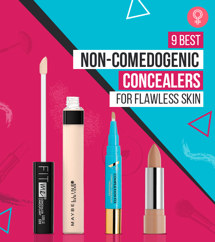 9 Best Non-Comedogenic Concealers For Flawless Skin
