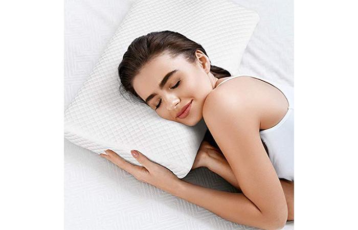 AXAR ENTERPRISE Contour Memory Foam Pillow