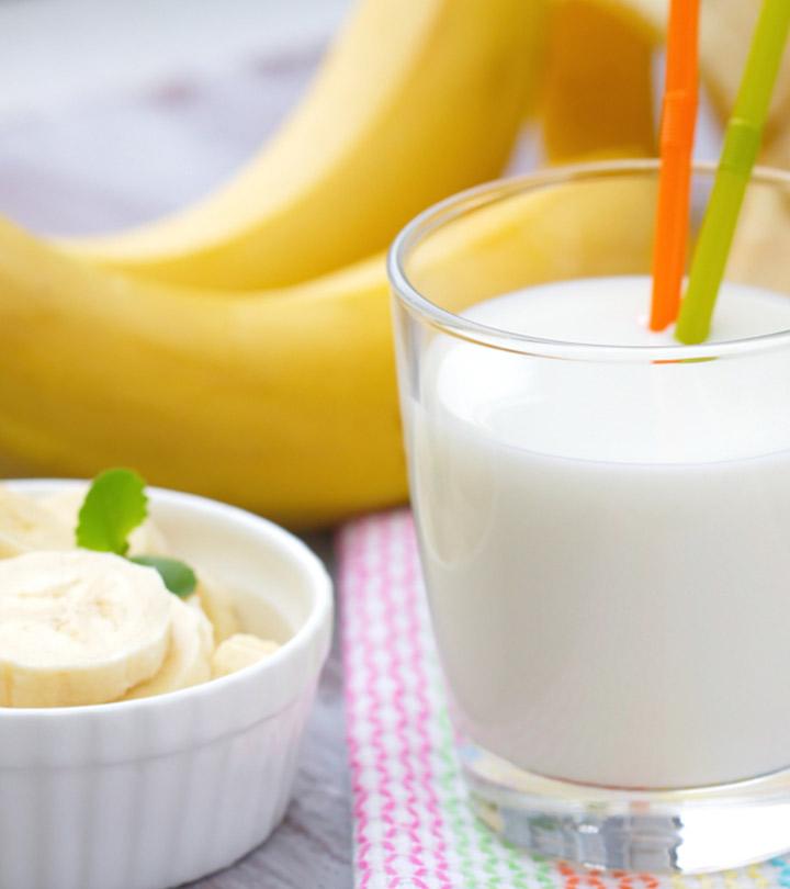 Amazing Benefits of Milk and Banana in Hindi