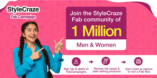 Register Now And Write Reviews For StyleCraze Products