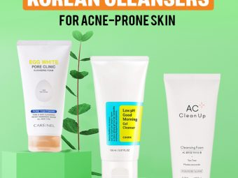 Best Korean Cleansers For Acne-Prone Skin