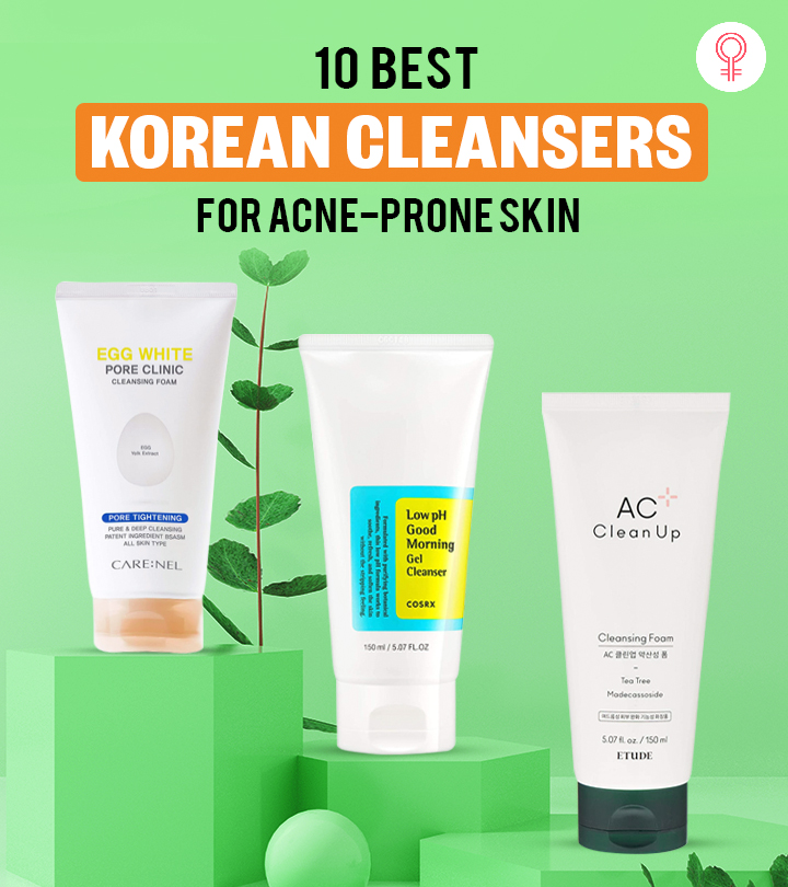 10 Best Korean Cleansers For Acne-Prone Skin