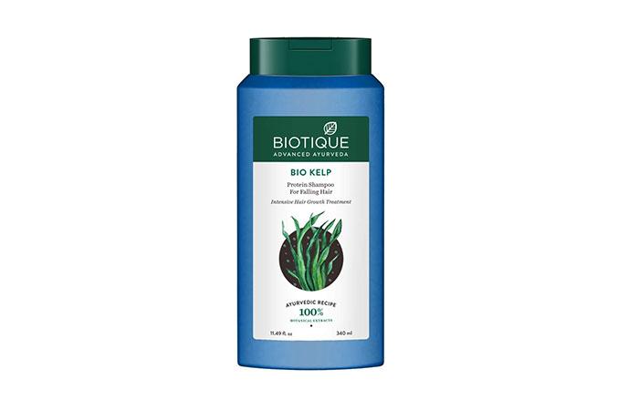 Biotique Bio Shampoo alla proteina di alghe per capelli che cadono