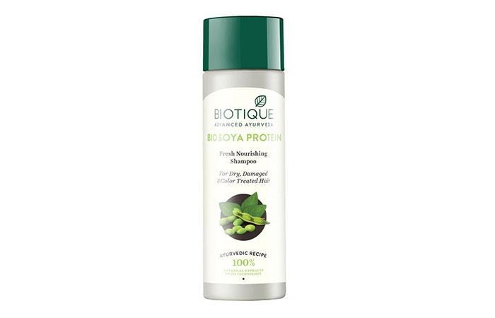 Shampoo nutriente fresco alle proteine della soia Biotique