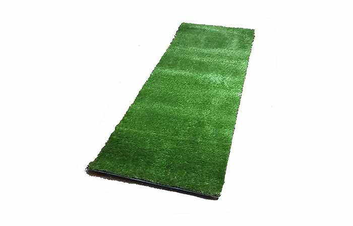 Comfy Home Solid Artificial Grass Carpet