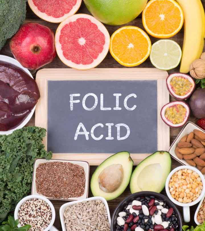 फोलिक एसिड और फोलेट युक्त खाद्य पदार्थ  – Folic Acid and Folate Rich Foods in Hindi