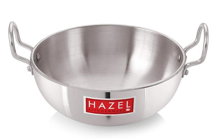 HAZEL Aluminum Induction Base Kadai