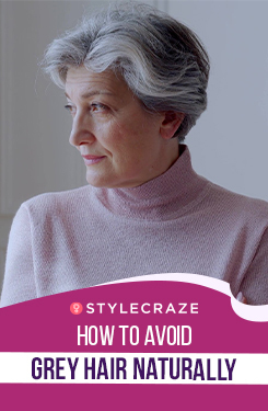 How to Avoid Grey Hair Naturally