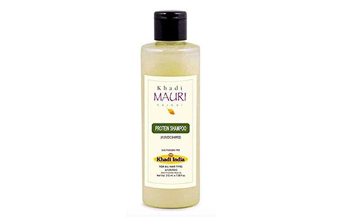 Shampoo proteico alle erbe Khadi Mauri