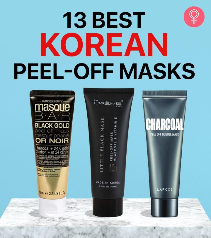 13 Best Korean Peel-Off Masks