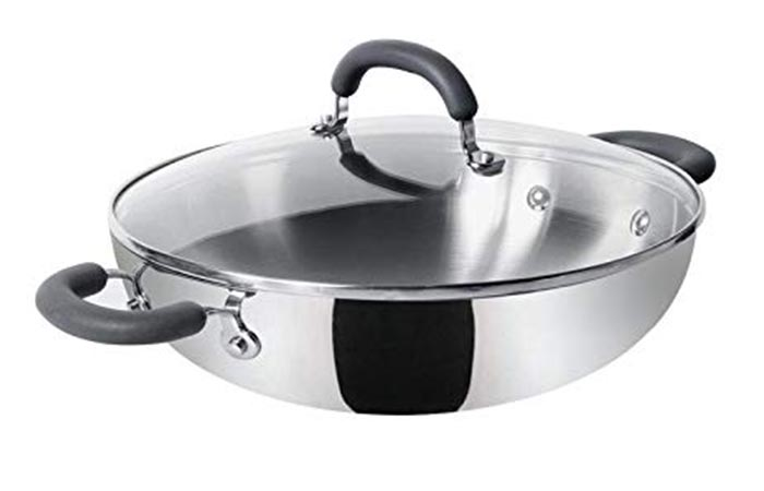 Meyer Trivantage Stainless Steel Kadai