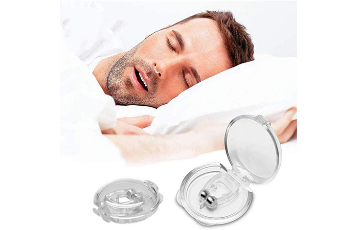 QONETIC Silicone Magnetic Anti-Snore Nose Clip