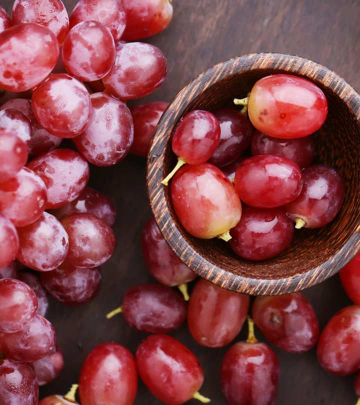 Red Grapes Benefits and Side Effects in Hindi