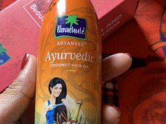 Parachute Advansed Ayurvedic Coconut Hair Oil -Best hair oil-By sudha_patel