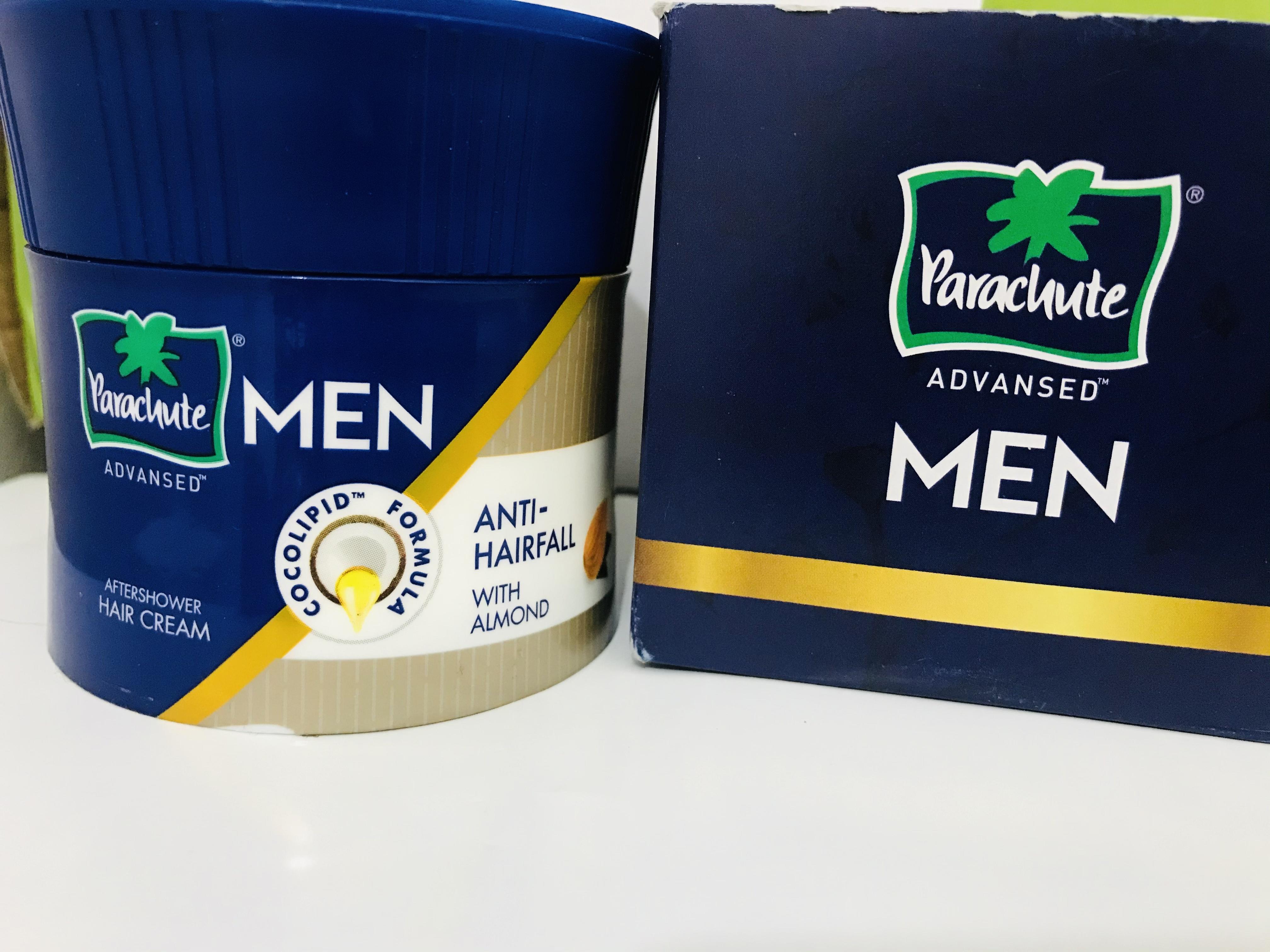 Parachute Advansed Men Anti Hairfall Hair Cream, With Almond Oil pic 3-Perfect product-By pawan_sharma