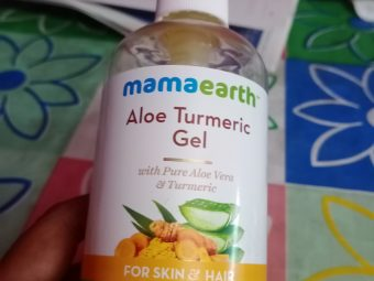 Mamaearth Aloe Turmeric Gel for Skin and Hair -A multitasking product-By shreemayee_chattopadhyay