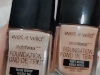 Wet n Wild Photo Focus Foundation -Perfect foundation-By sadiya_mushtaq