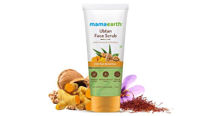 mamaearthUbtan Face Scrub