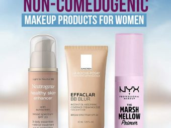 10 Best Recommended Non-Comedogenic Makeup Products For Women