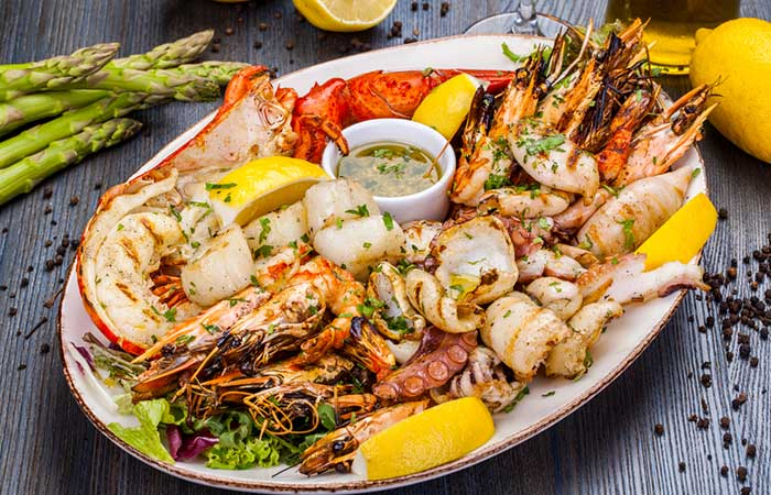 Get Some Seafood On Your Plate
