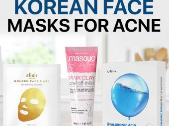 12 Best Korean Face Masks For Acne