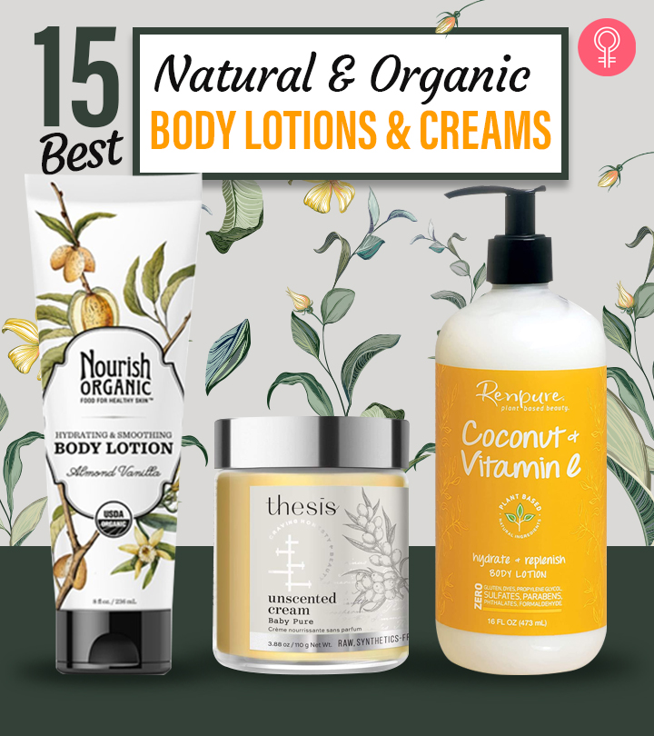 15 Best Natural And Organic Body Lotions And Creams