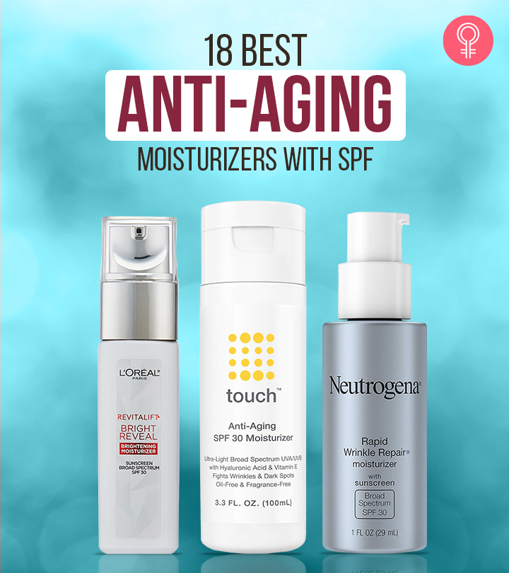 18 Best Drugstore Anti-Aging Moisturizers With SPF