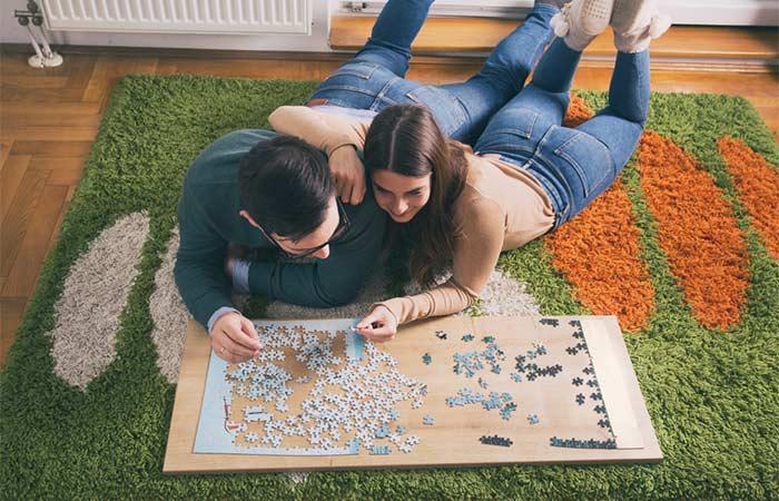 Puzzle date ideas