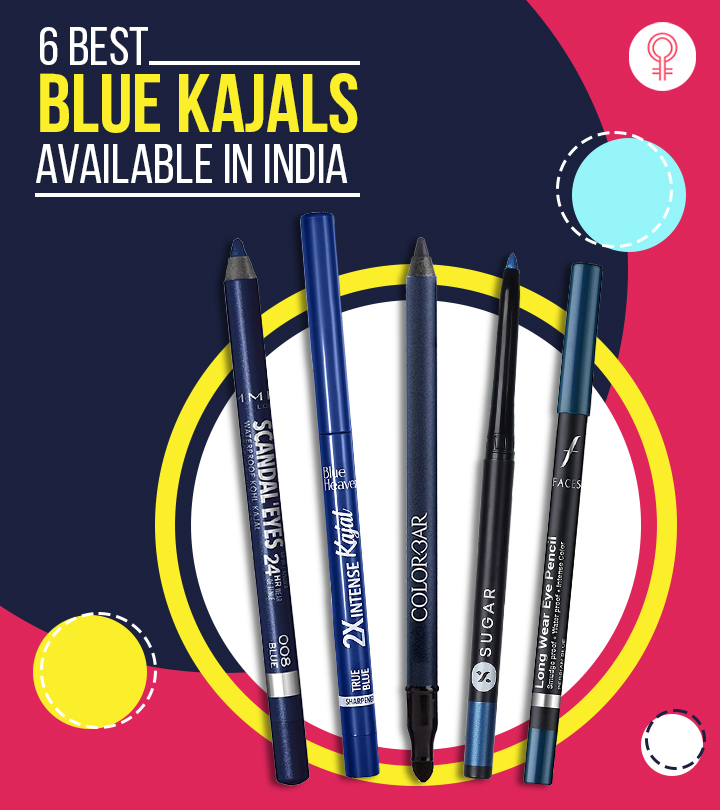 6 Best Blue Kajals Available In India