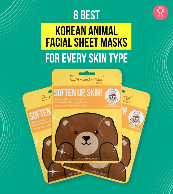 8 Best Korean Animal Facial Sheet Masks For Every Skin Type