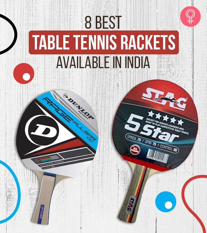 8 Best Table Tennis Rackets Available In India
