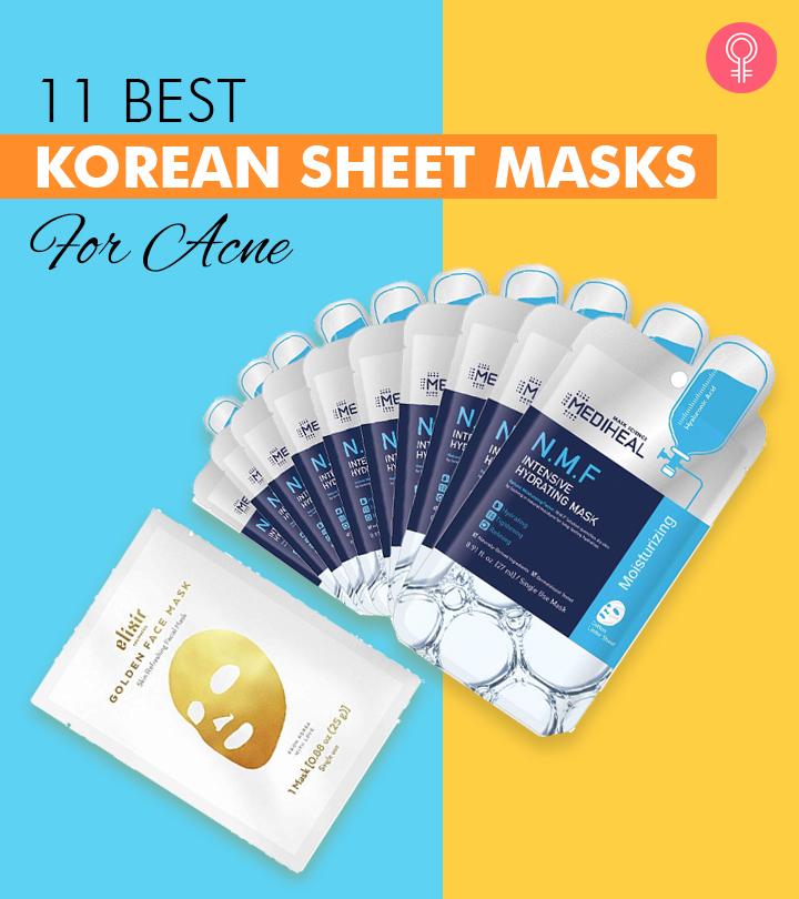 11 Best Korean Sheet Masks For Acne