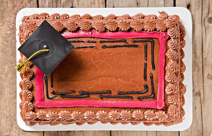 Chocolate Cake With Pink Vanilla Icing