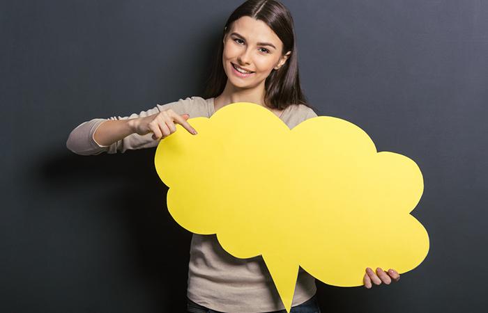 Create Some Cardboard Speech Bubbles