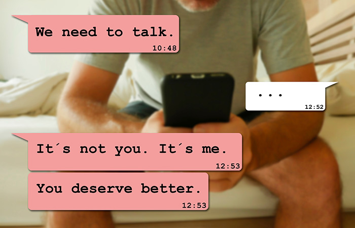 How To Break Up With Someone Over Text