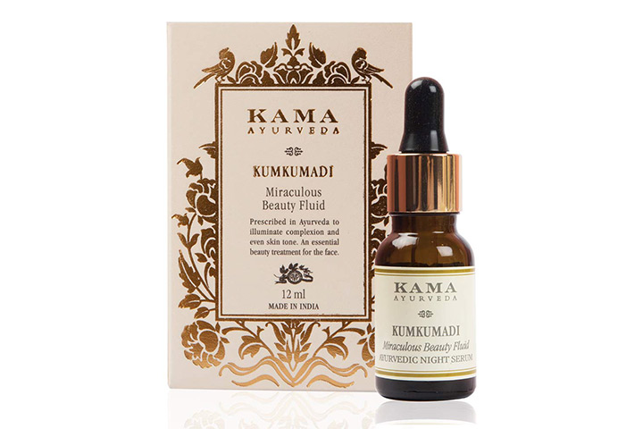 Kama Ayurveda Kumkumadi Miraculous Beauty Fluid