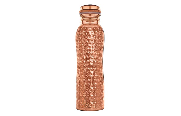 Signoraware Oxy Hammered Copper Bottle
