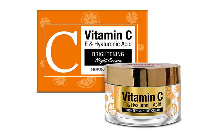 St Botanica Vitamin C E & Hyaluronic Acid Brightening Night Cream