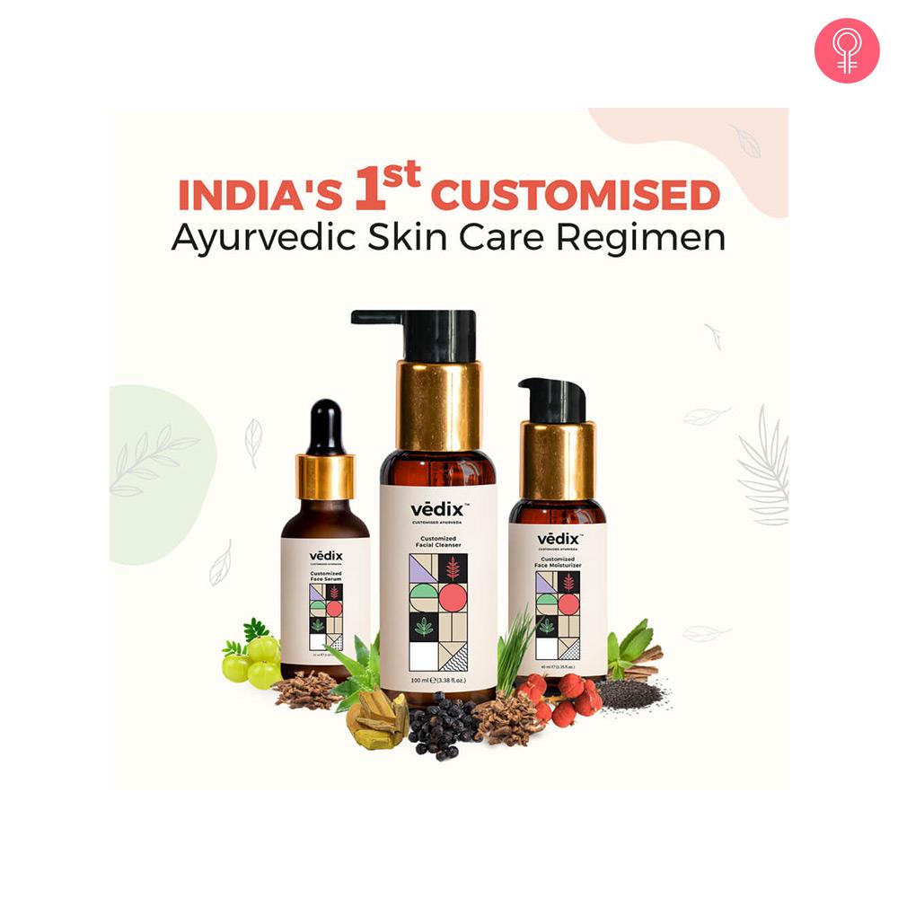 Vedix Customised Ayurvedic Skin Care Regimen
