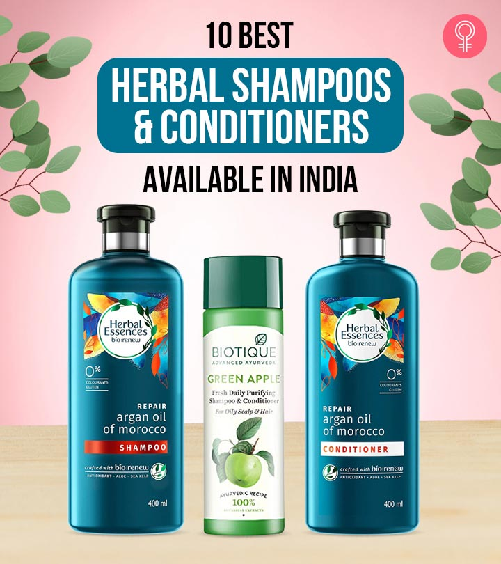 10 Best Herbal Shampoos And Conditioners Available In India