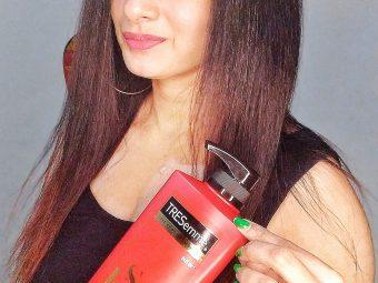 TRESemmé Keratin Smooth Infusing Shampoo -Best Keratin Shampoo-By nisha_guelis