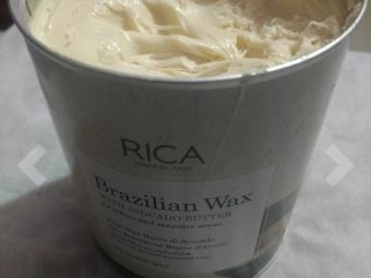 Rica Brazilian Wax With Avocado Butter -One of the best liquid wax-By adil_siddiqui